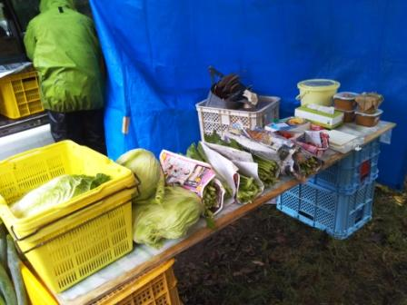小清水さんのお野菜。無農薬で安心。いつも安くて助かります!