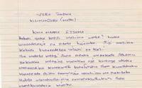 KODOMOセンターからの手紙