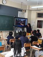 『タンザニアのお話』 旭小学校4年生